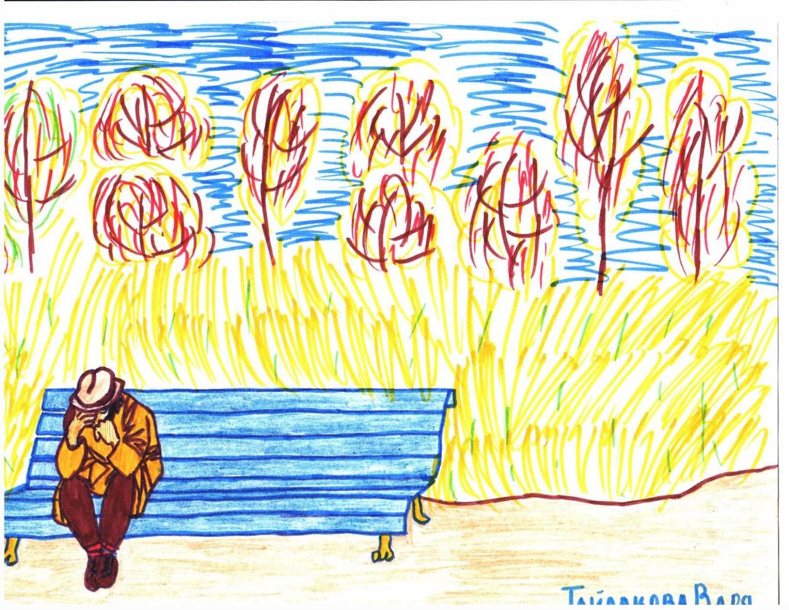 Рисунок к рассказу куприна чудесный доктор